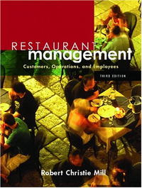 Restaurant Management: Customers, Operations, and Employees Издательство: Prentice Hall, 2006 г Мягкая обложка, 464 стр ISBN 0131136909 Язык: Английский инфо 9838b.