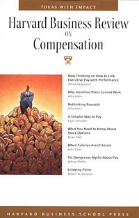 Harvard Business Review on Compensation ISBN 157851701X инфо 9913b.