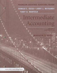Intermediate Accounting, Volume 2, Problem Solving Survival Guide Издательство: Wiley, 2007 г Мягкая обложка, 384 стр ISBN 0471749583 Язык: Английский инфо 3411m.