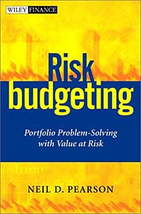 Risk Budgeting: Portfolio Problem-Solving with Value at Risk Издательство: Wiley Publishing, Inc, 2002 г Твердый переплет, 256 стр ISBN 0-47140-556-6 инфо 3417m.